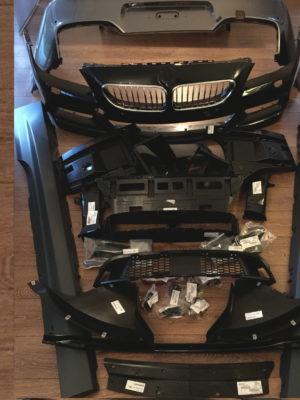 BMW 6er F12 F13 F06 Mpaket Front Heck Stoßstangen Seitenschweller