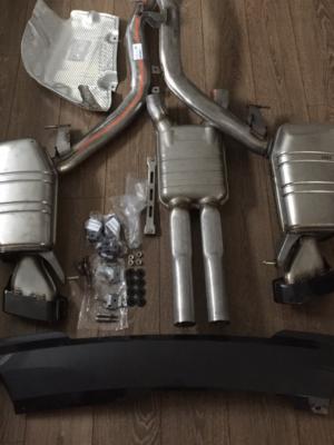 BMW F10 m550d Auspuffanlage Auspuff und Nachschalldämpfer