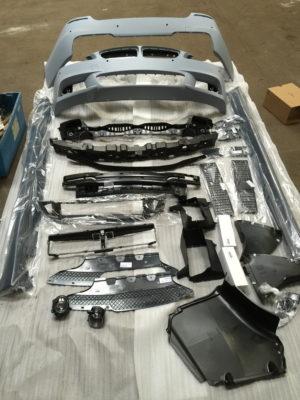 BMW F10 Mpaket Komplettes Front Heck Stoßstange M Paket